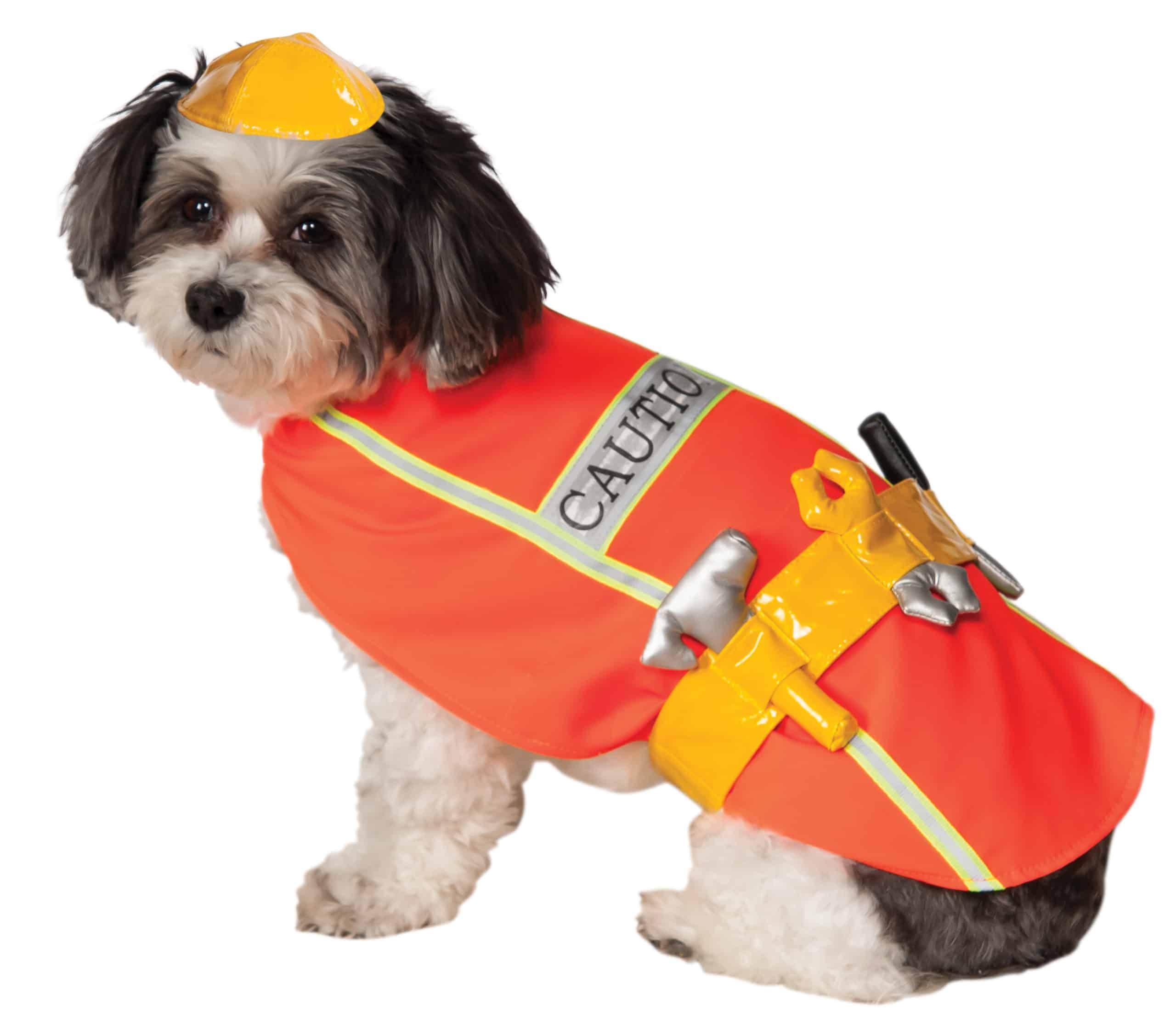 Construction Worker Dog \u0026 Cat Costume