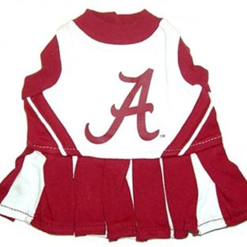 Alabama Cheerleader Dog Dress