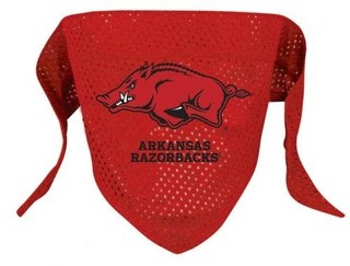Arkansas Dog Bandana - Mesh