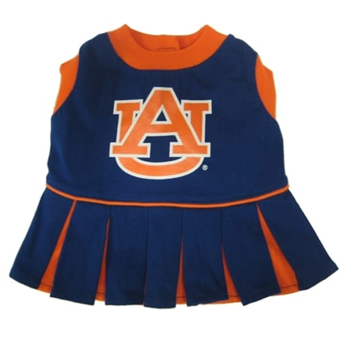Auburn Cheerleader Dog Dress