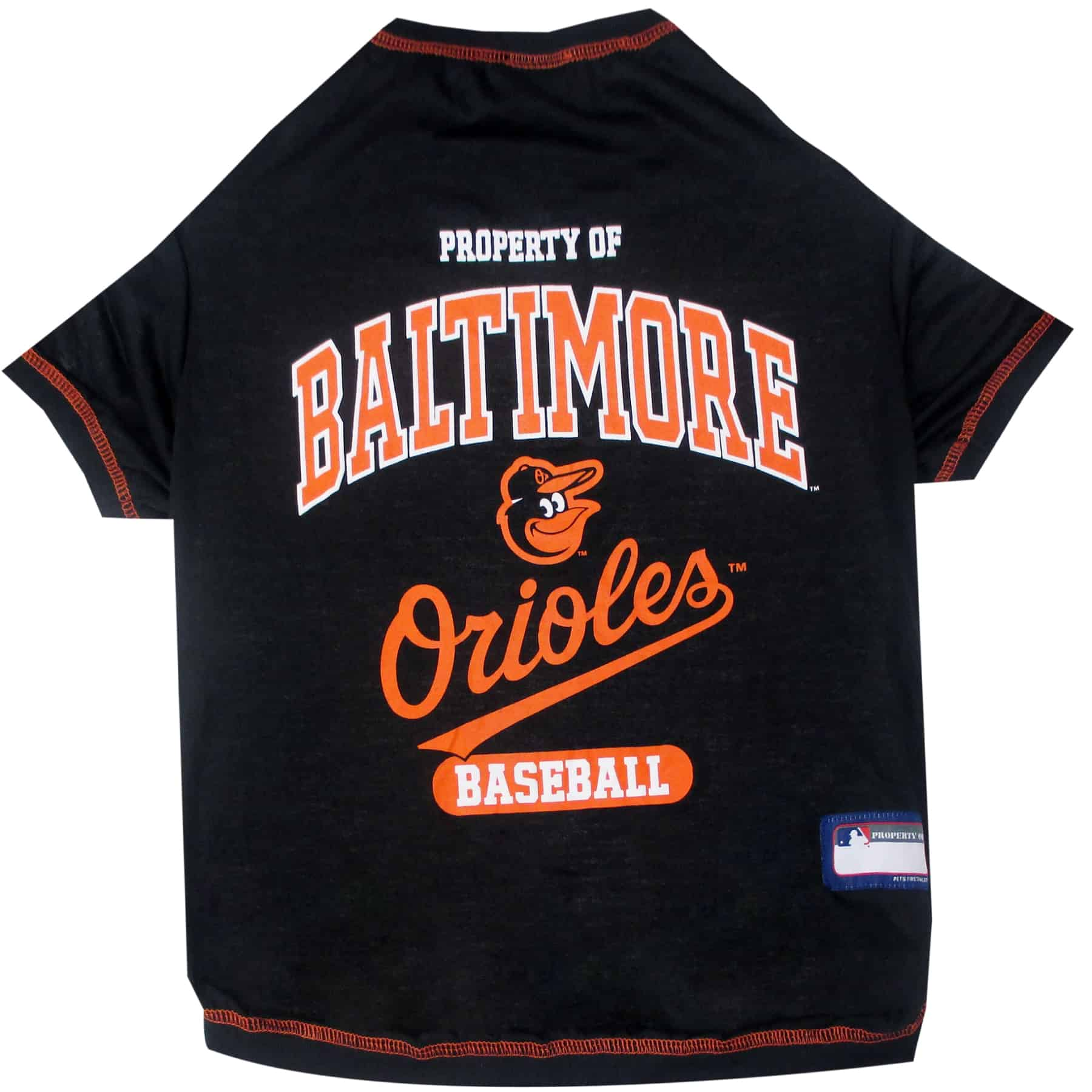 Baltimore Orioles Dog Tee Shirt