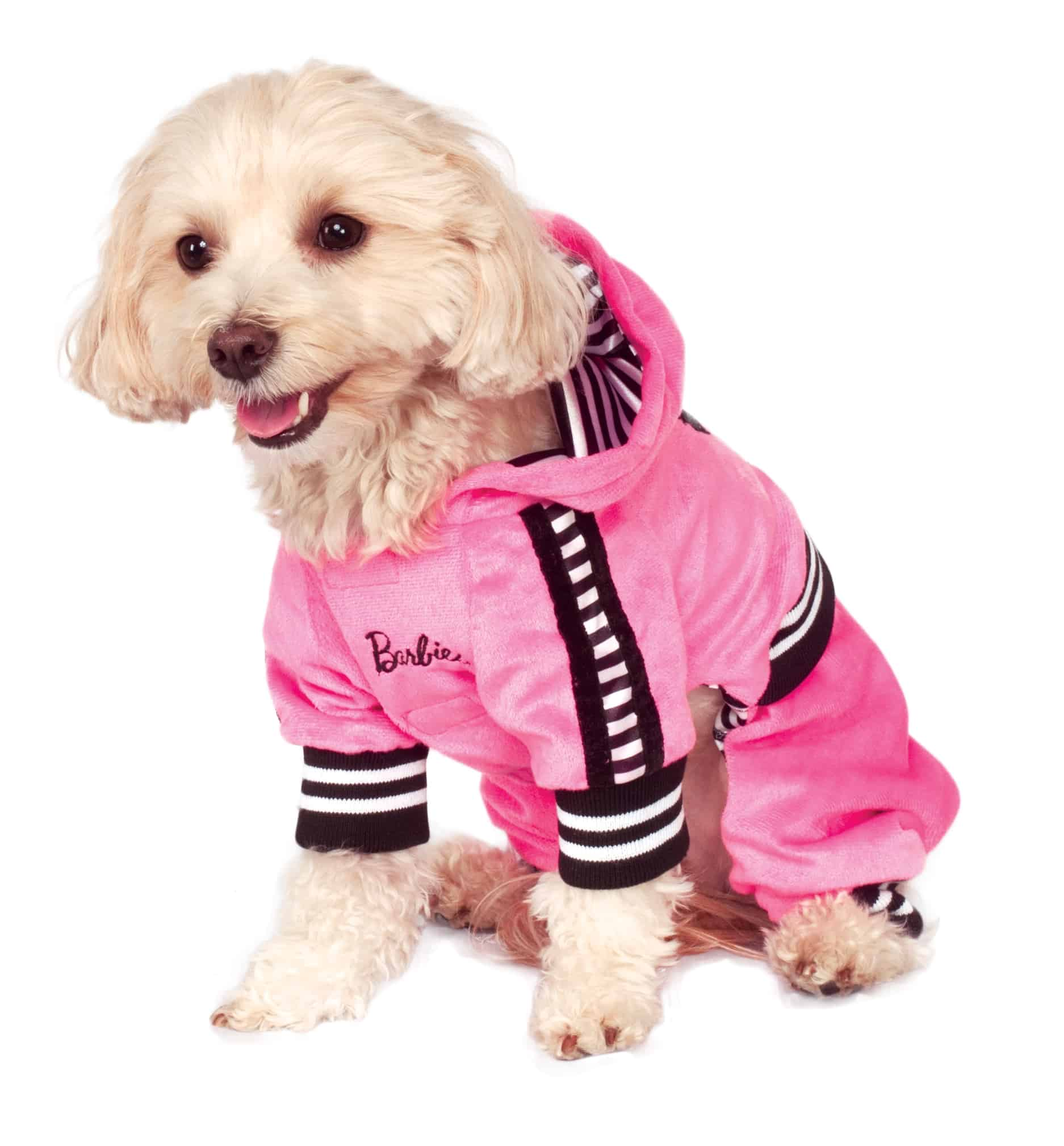 Barbie Girl Velour Dog Jumpsuit Costume