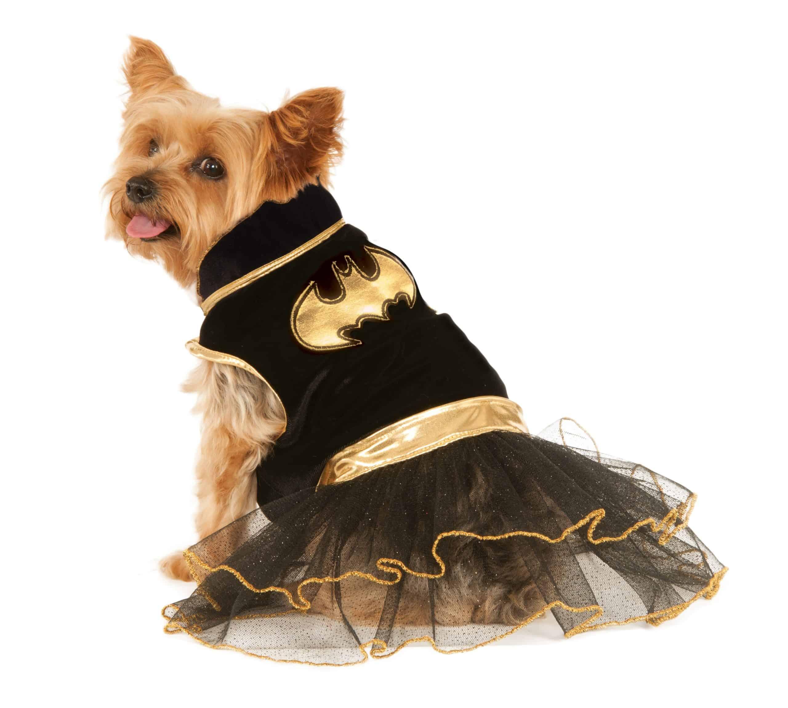 Batgirl Tutu Dress Dog Costume