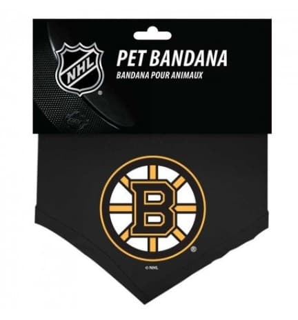 Boston Bruins Dog Bandana