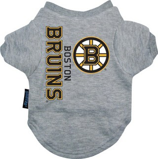 Boston Bruins Dog Tee Shirt