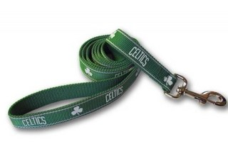 Boston Celtics Dog Leash - Reflective