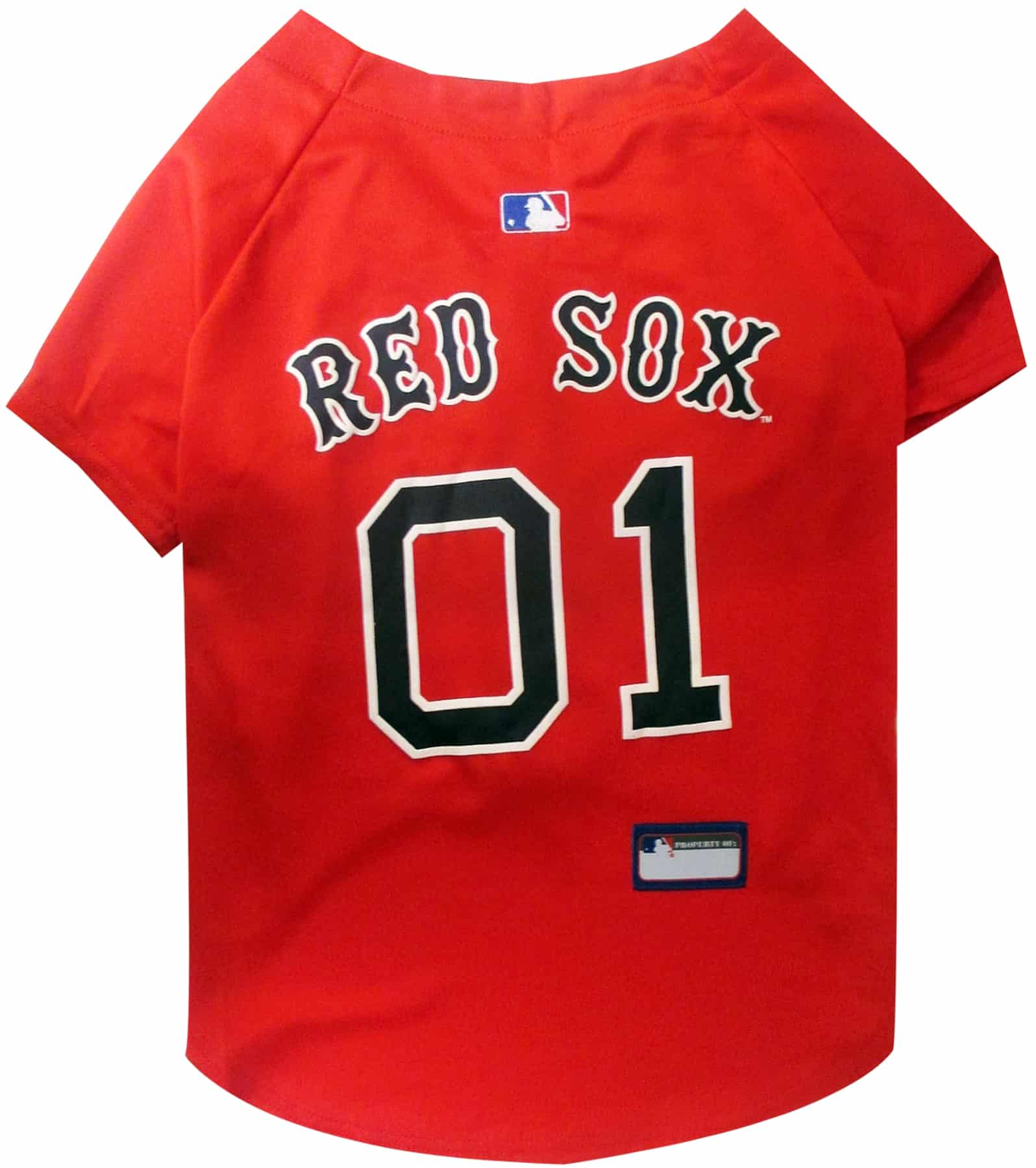 Boston Red Sox Dog Jersey - Red
