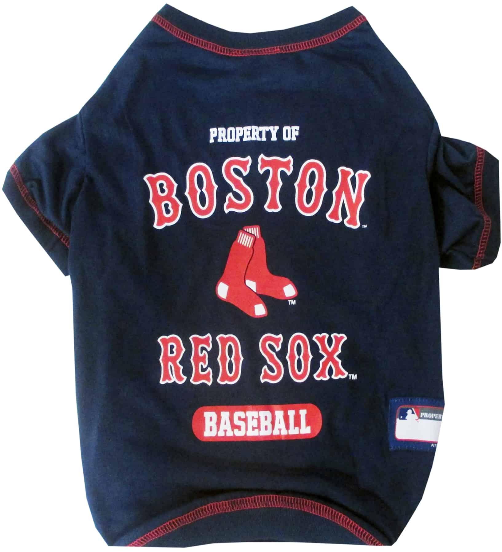Boston Red Sox Dog Tee Shirt