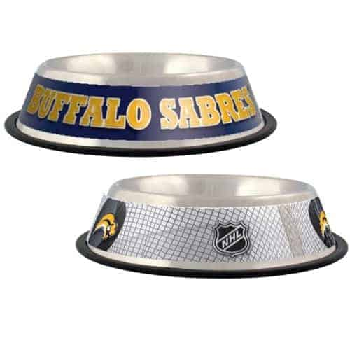 Buffalo Sabres Dog Bowl - Stainless