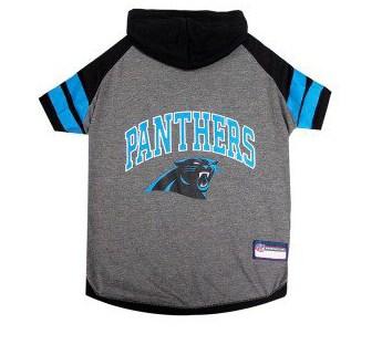 Carolina Panthers Hoody Dog Tee