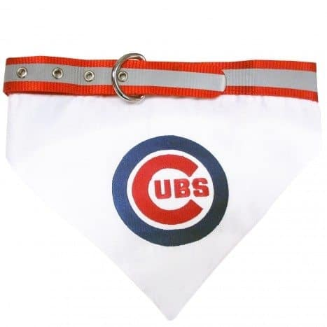 Chicago Cubs Dog Bandana - Mesh