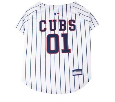 Chicago Cubs Dog Jersey - White