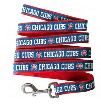 Chicago Cubs Dog Leash- Ribbon