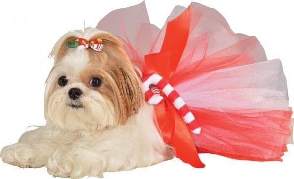 Christmas Festive Dog Hair Bows
