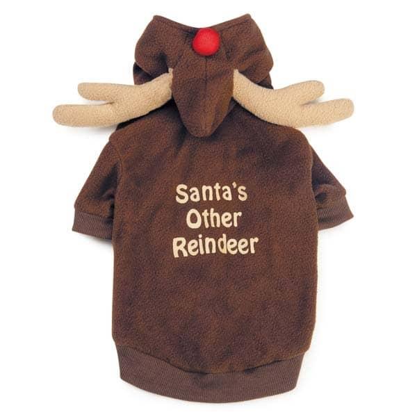 Dog Reindeer Hoodie