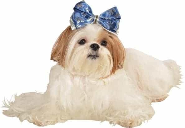 Christmas Snowflake Dog Hair Bow