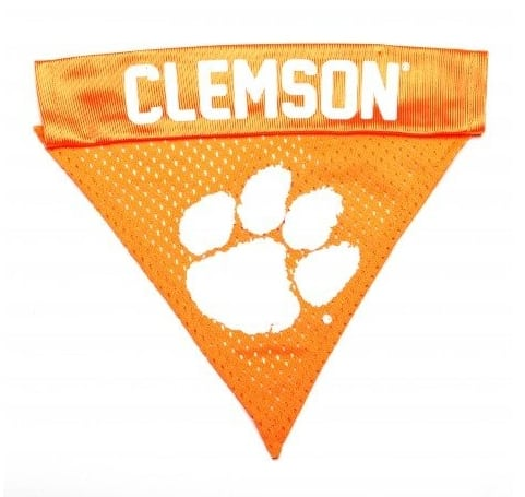 Clemson Dog Bandana - Orange