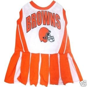 Cleveland Browns Cheerleader Dog Dress