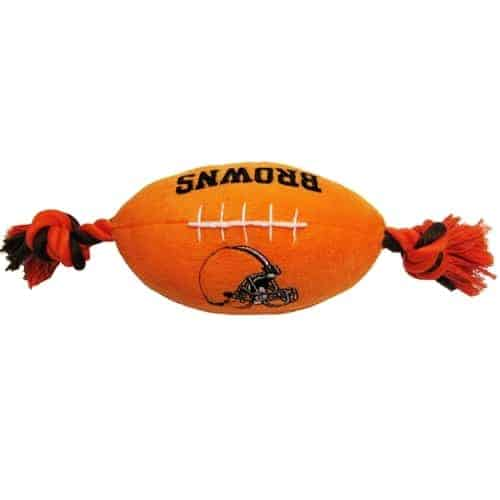 Cleveland Browns Plush Dog Toy