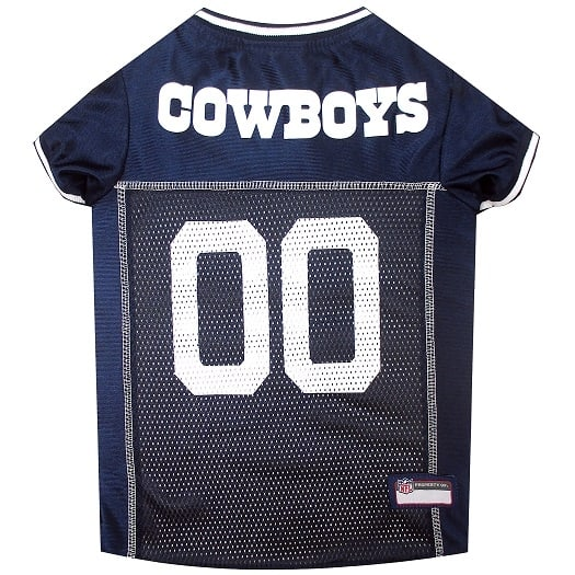 Dallas Cowboys Pet Football Jersey