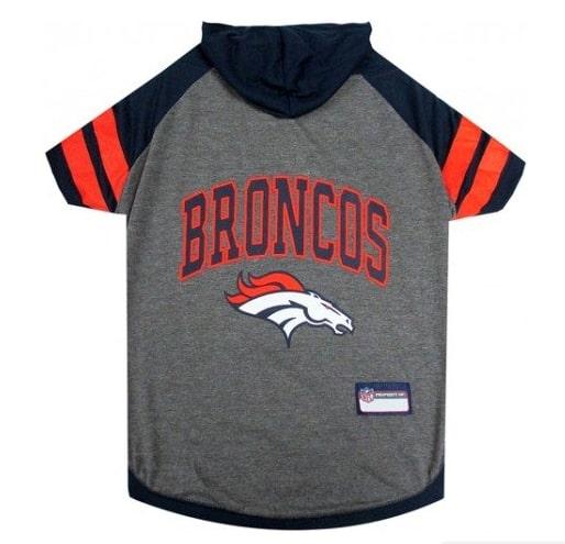 Denver Broncos Hoody Dog Tee