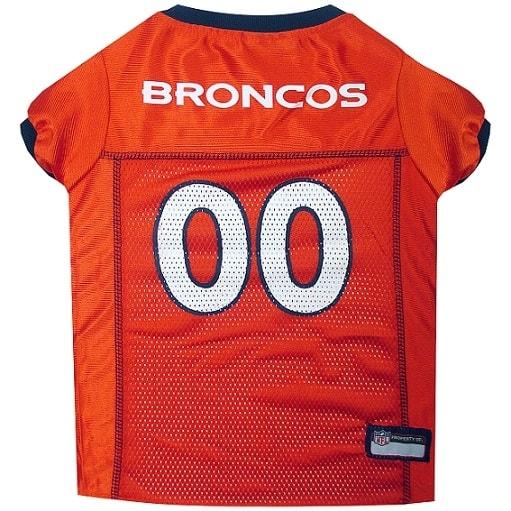 Denver Broncos Pet Football Jersey