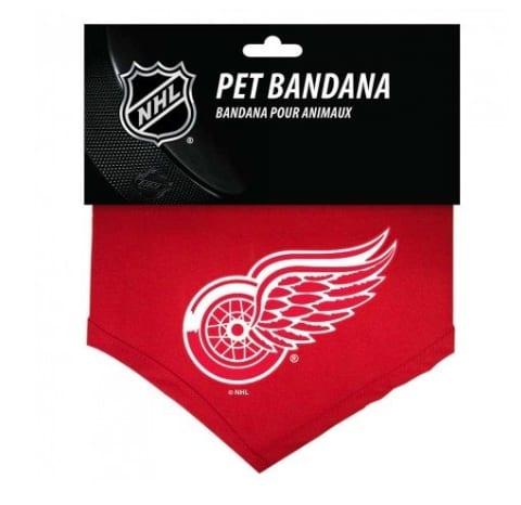 Detroit Red Wings Dog Bandana