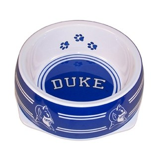 Duke Dog Bowl - Plastic