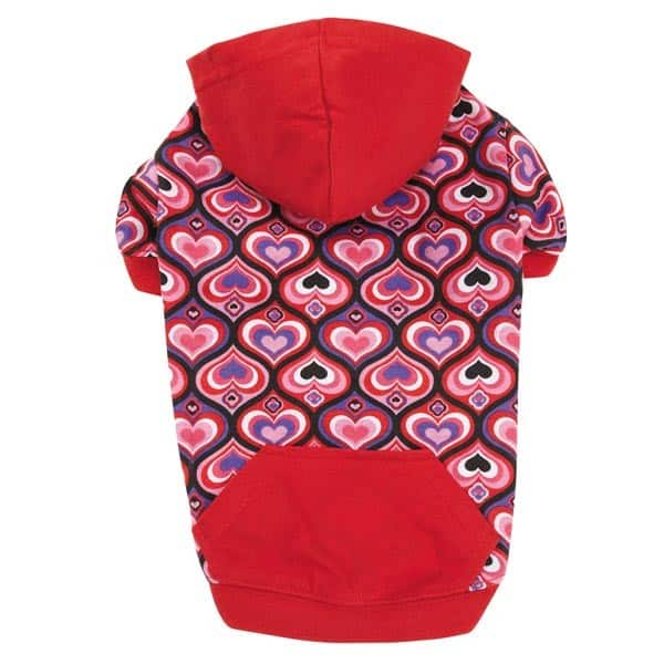Full of Heart Dog Pullover Hoodie