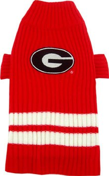 Georgia Bulldogs Dog Sweater