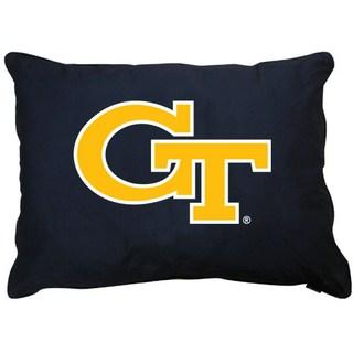 Georgia Tech Dog Pillow