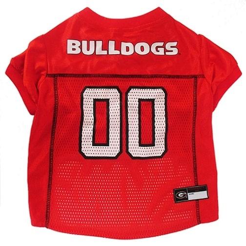 Georiga Bulldogs Dog Jersey - Red
