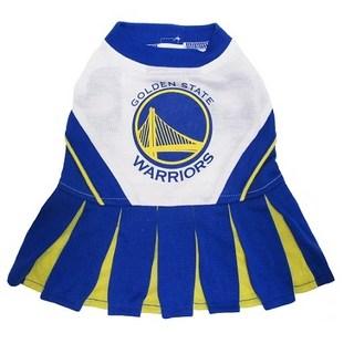 Golden State Warriors Cheerleader Dog Dress