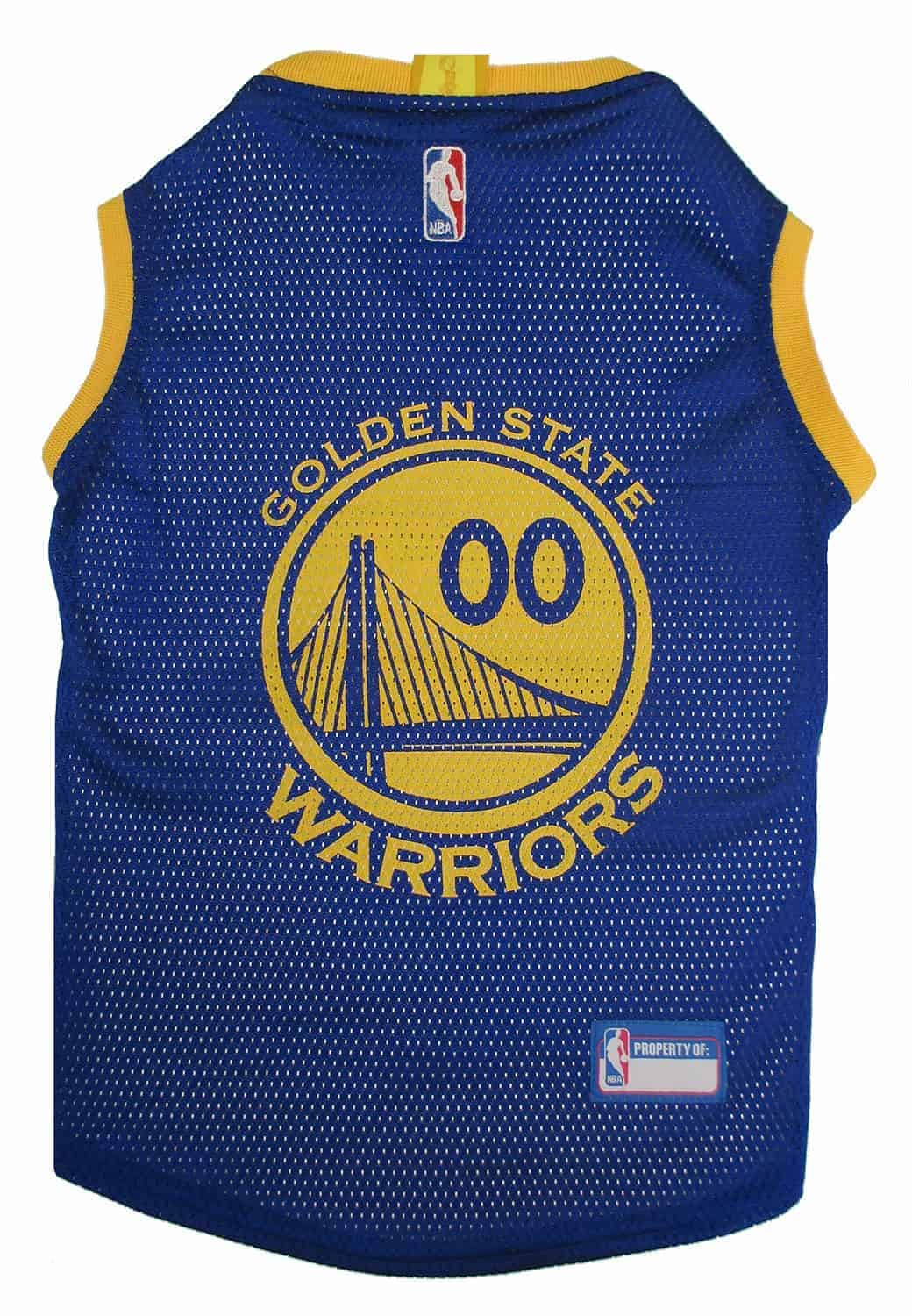 Golden State Warrios Dog Jersey