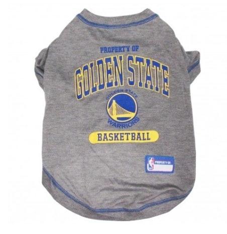 Golden State Warriors Dog Tee Shirt