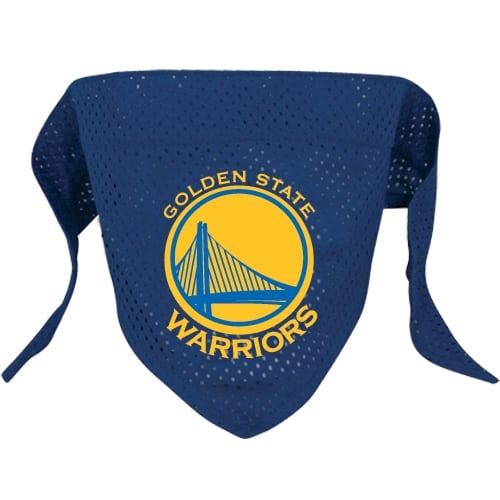 Golden State Warriors Mesh Dog Bandana