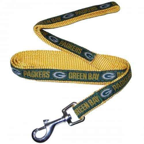 Green Bay Packers Dog Leash - Ribbon