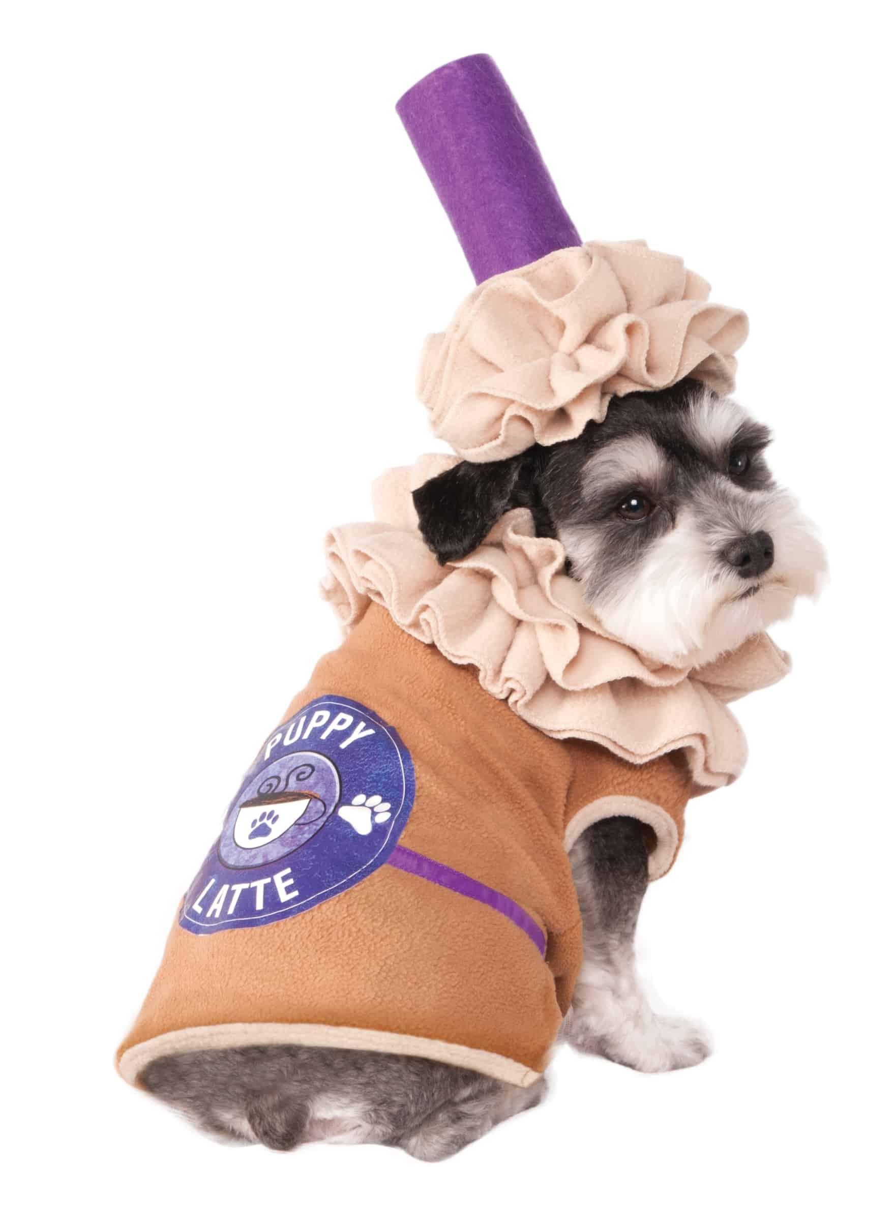 Iced Coffee Dog Costume