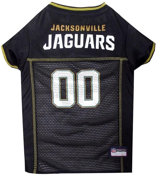 Jacksonville Jaguars Dog Jersey - Teal