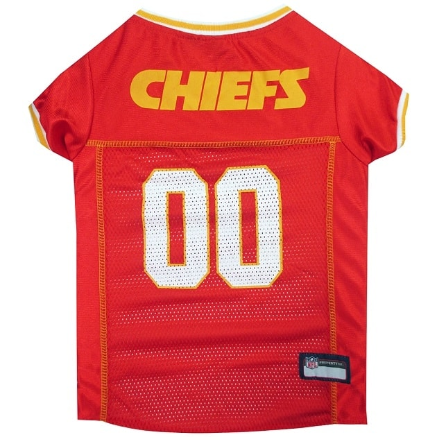 Kansas City Chiefs Pet Football Jersey