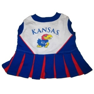 Kansas Jayhawks Cheerleader Dog Dress