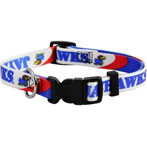 Kansas Jayhawks Dog Collar