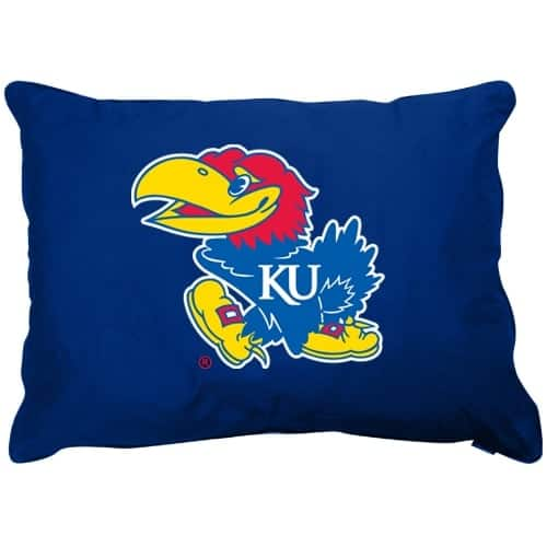 Kansas Jayhawks Dog Pillow