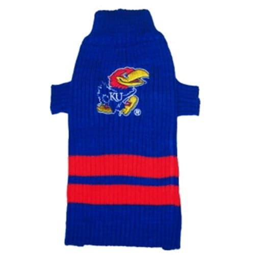 Kansas Jayhawks Dog Sweater