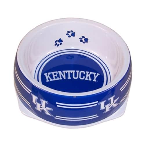 Kentucky Wildcats Dog Bowl - Plastic