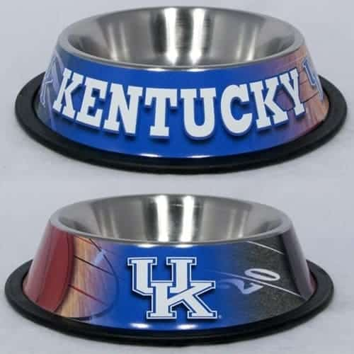 Kentucky Wildcats Dog Bowl - Stainless