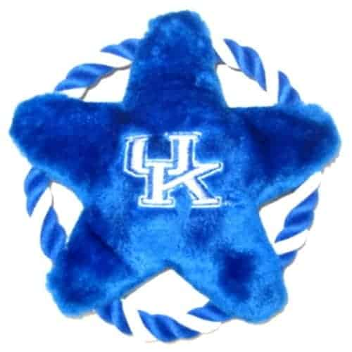 Kentucky Wildcats Rope Disk Dog Toy