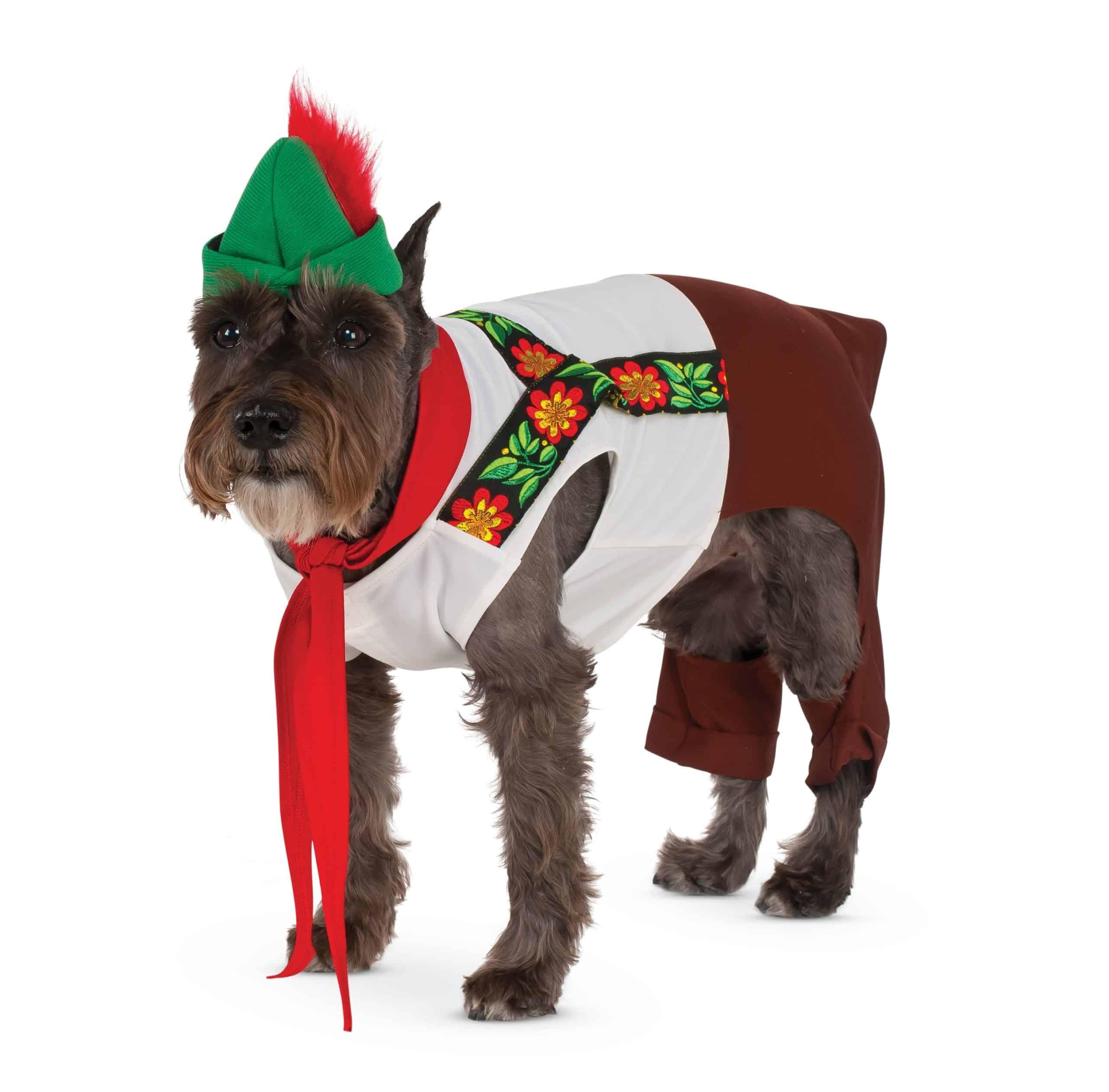 Lederhosen Hound Dog Costume