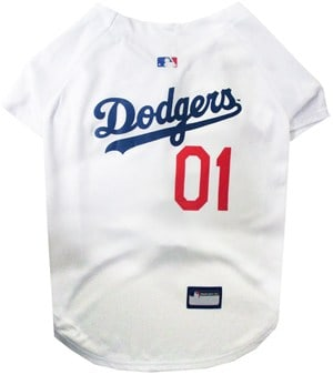 Los Angeles Dodgers Dog Jersey - Blue