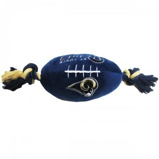 St. Louis Rams Plush Dog Toy